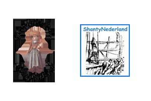 logos Shantynederland en Sootjevisch